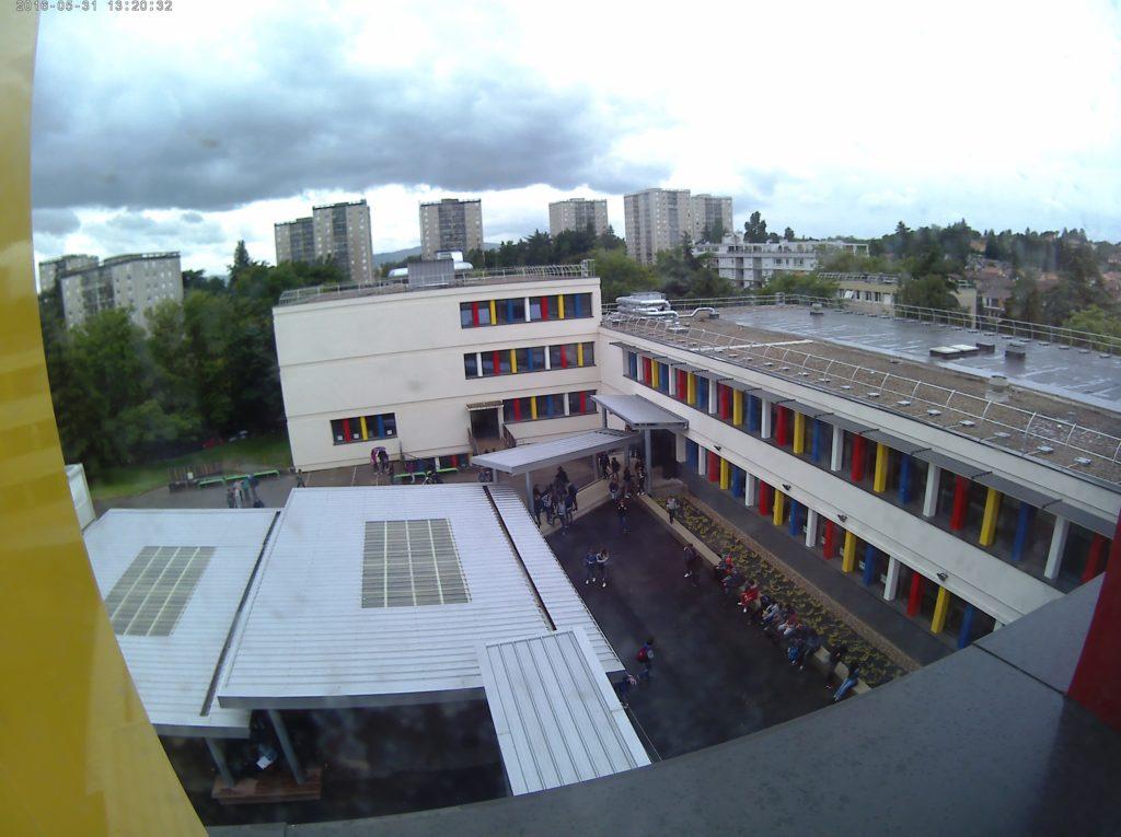 Rénovation totale du collège JP Rameau a Champagne-au-Mont-d'Or