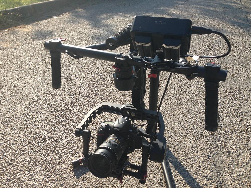 Tournage vidéo en cours sur Villefranche sur Saone.
