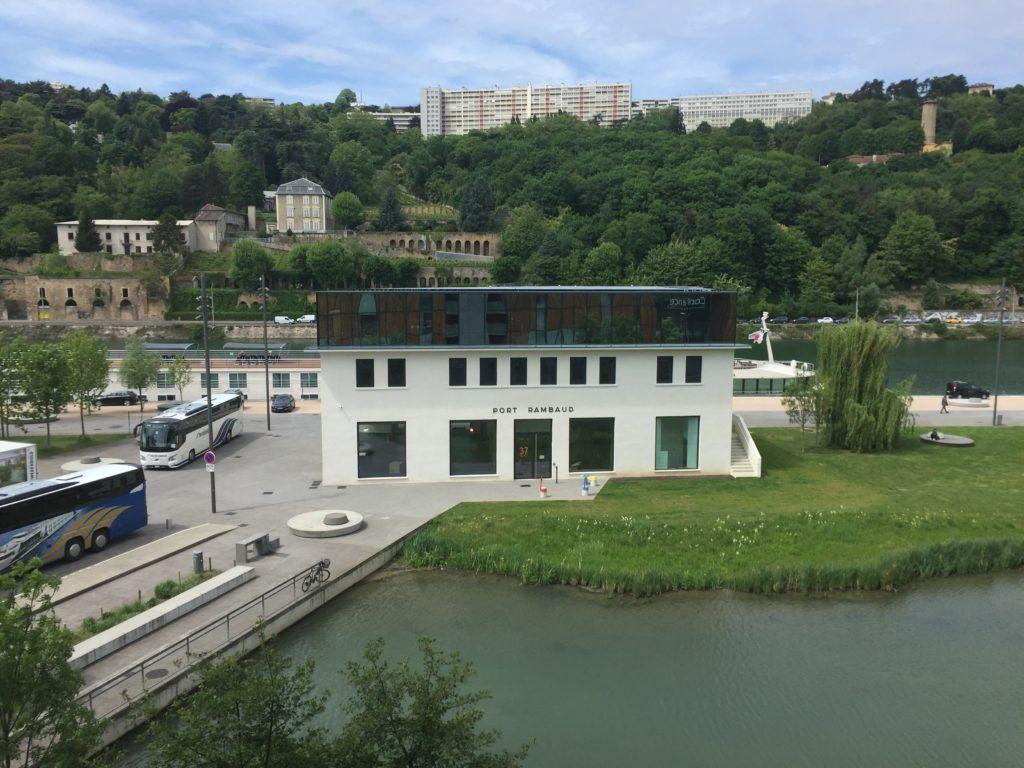 Rénovation de l'ancienne Capitainerie de Lyon Confluence.